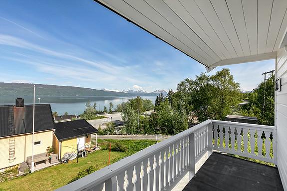 Hovedplan - utsikt fra balkong