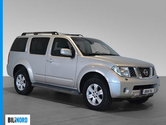 Bilbilde: Nissan Pathfinder