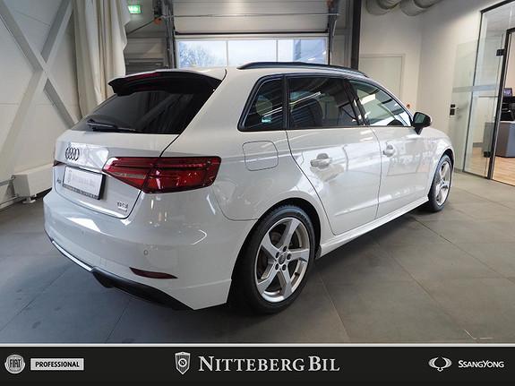 Audi A3 - Sportback - Panorama - Automat - Dab  2017, 70000 km, kr 249000,-