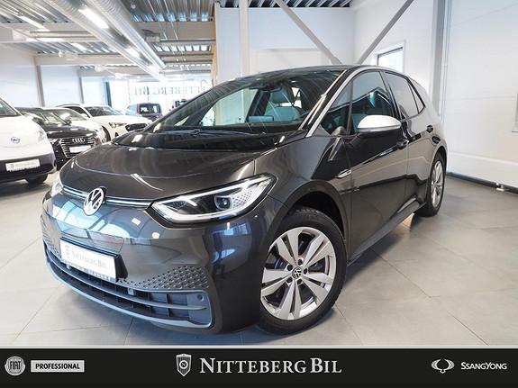 Volkswagen ID.3 Max -Toppmodell - 420km -Panorama - ACC - Navi - Dab  2021, 5000 km, kr 389000,-