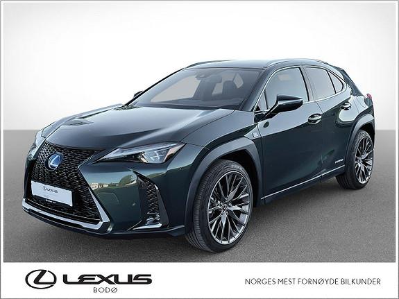 """Lexus UX 250h AWD F Sport   Hybrid   Må oppleves   20""""  2021, 3000 km, kr 579000,-"""