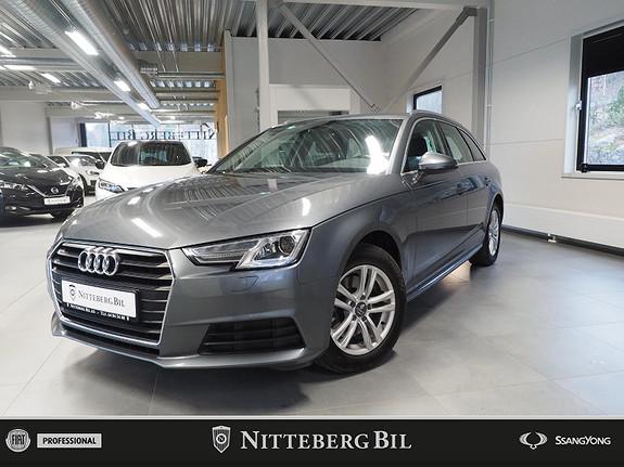 Audi A4 150hk TDI Automat - H-Feste - Navigasjon  2016, 111000 km, kr 259000,-