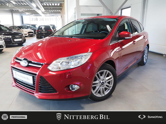 Ford Focus 1.0 125Hk - Klima - Xenon - Navigasjon -  2013, 104000 km, kr 99000,-