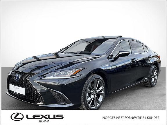 Lexus ES 300h F Sport S   Hybrid   Topputstyrt   LavKM  2021, 3000 km, kr 679000,-