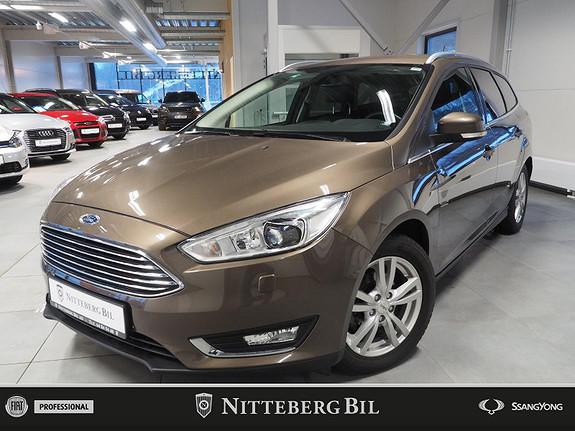 Ford Focus Titanium - 125Hk - Navi - Ryggekamera - Dab  2018, 46000 km, kr 179000,-