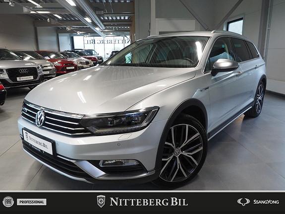 Volkswagen Passat Alltrack - Fjernbetjent webasto - Navi - Klima -  2019, 36000 km, kr 469000,-