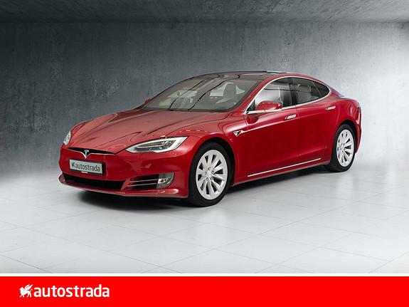 Tesla Model S 75D 4WD PREMIUM LYD, LUFT, AUTOPILOT 2.5  2018, 44989 km, kr 509000,-