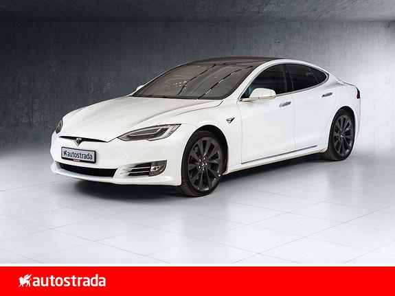 Tesla Model S 75D 4WD  2018, 44500 km, kr 509000,-