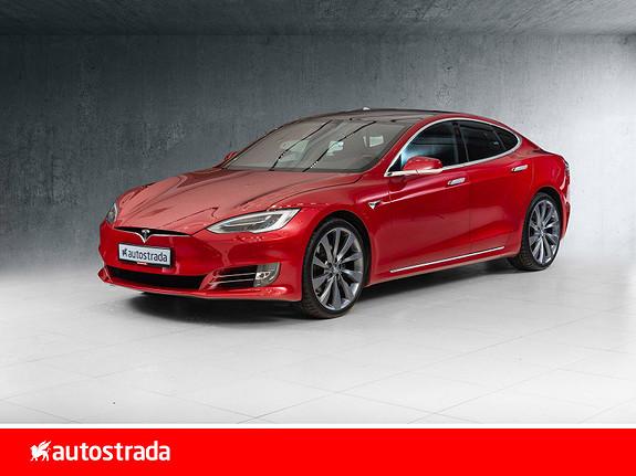 Tesla Model S 75D 4WD Premium/Pano/AP 2.5+++  2018, 45000 km, kr 499000,-