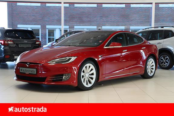 Tesla Model S 75D 4WD Premium/AP2.5/Panorama++  2018, 41000 km, kr 509000,-