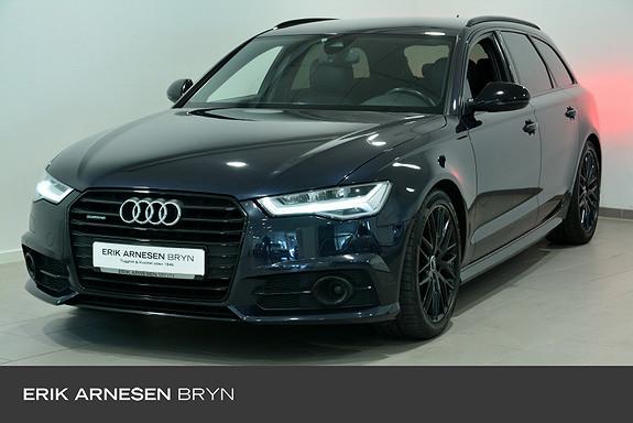 Audi A6 Avant 2,0 TDI 190hk Black Edition quattro aut Webasto +  2018, 80990 km, kr 479900,-