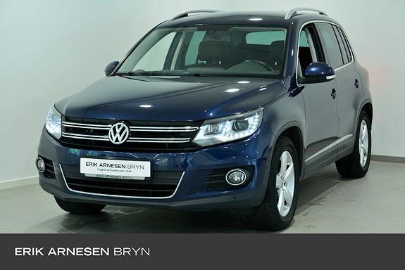 Volkswagen Tiguan 1,4 TSI 122hk 2WD Exclusive BMT Skinn, Cruise, DAB,  2014, 120400 km, kr 134900,-