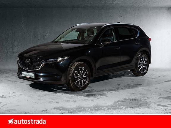 Mazda CX-5 2,4 192hk Optimum AWD aut. H.feste  2018, 61300 km, kr 389000,-