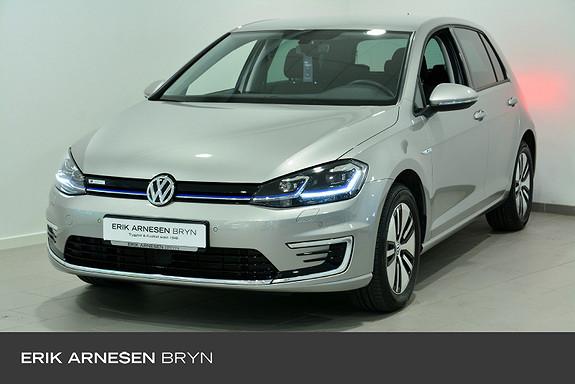 Volkswagen Golf E-golf 136 hk * Keyless, Kamera, Varmepumpe + +  2020, 9990 km, kr 234900,-