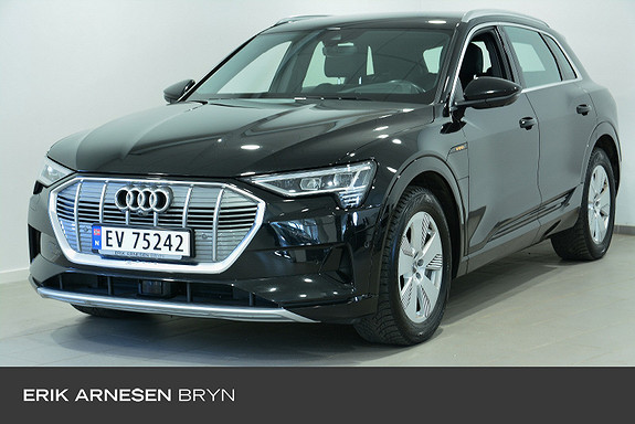 Audi e-tron 55 advanced plus Assistentsystempakke by + tur, H.feste  2019, 53000 km, kr 604900,-