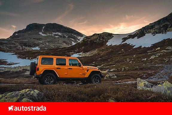 Jeep Wrangler 4xe PHEV Rubicon 380hk 7 år garanti!  2021, 2000 km, kr 959000,-