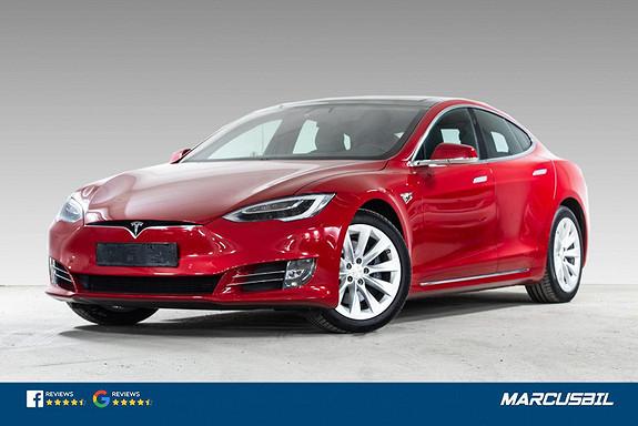 Tesla Model S 75D EAP/LUFT/SOLTAK/DELSKINN/CCS/MCU2  2018, 37050 km, kr 459900,-