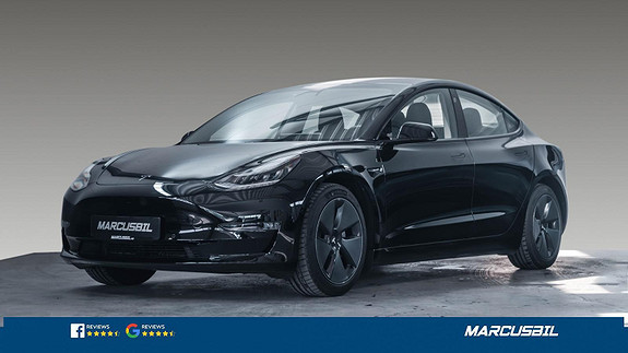 Tesla Model 3 LR AWD AP/H.FESTE/VARMEPUMPE/S+ V  2021, 6300 km, kr 489900,-