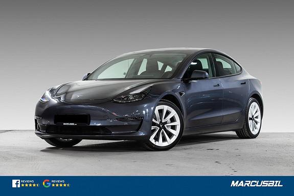 "Tesla Model 3 LR AWD AP/H.FESTE/VARMEPUMPE/19""&19""  2021, 1400 km, kr 519000,-"