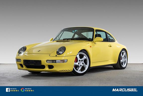 Porsche 911 993 C4S UNIK BIL! Særdeles strøken, MÅSEES/OPPLEVES!  1997, 77037 km, kr 1099000,-