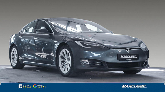 Tesla Model S 75D AP2.5/SKINN/VINTER/NETFLIX/MCU2/S+ V  2018, 32000 km, kr 519000,-