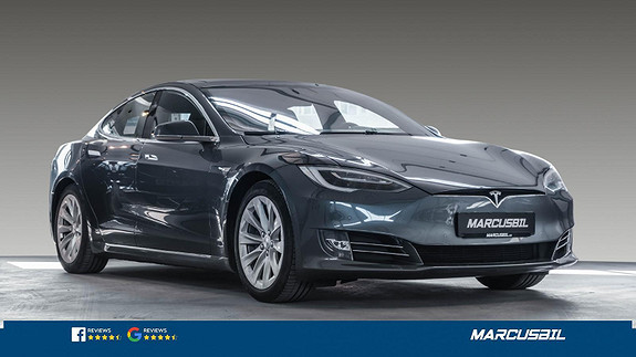 Tesla Model S 100D AP2.5/SKINN/NETFLIX/MCU2/S+ V  2018, 69100 km, kr 579000,-