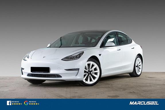 Tesla Model 3 LR AWD AP/H.FESTE/VARMEPUMPE/S+ V  2021, 6000 km, kr 489900,-