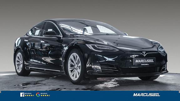 Tesla Model S 75D AP2.5/DELSKINN/NETFLIX/MCU2/S+ V  2018, 42000 km, kr 489000,-