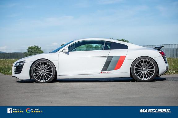 """Audi R8 TTS Performance 750HK, Larini Clubsport, Vossen 20"""" +++  2009, 83000 km, kr 849000,-"""