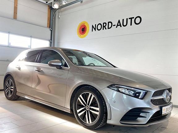 Mercedes-Benz A-Klasse A180/AUT/AMG/SKINN/WEBASTO/PANO/WIDESCREEN/BURMESTER  2020, 12200 km, kr 379900,-
