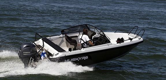 Finnmaster Husky R6 m/Yamaha F150XB