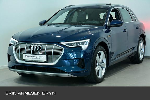 Audi e-tron 55 advanced plus High tech, B&O, Panorama, Krok + + +  2020, 55790 km, kr 629900,-