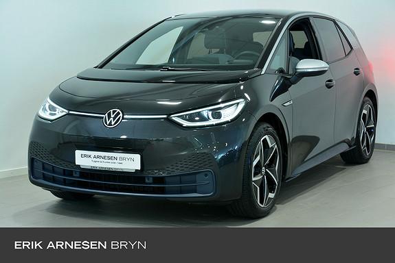 Volkswagen ID.3 1st plus Led Matrix, Keyless, ACC, Navi++  2021, 4221 km, kr 349900,-