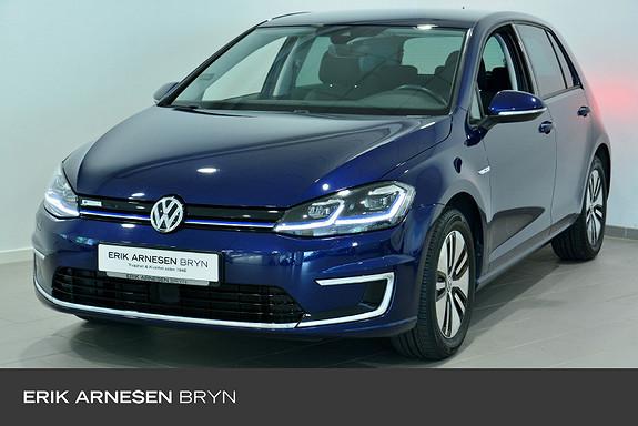 Volkswagen Golf E-golf 136 hk Active info, Ryggekamera, Sikkerhetspakke  2018, 36250 km, kr 219900,-
