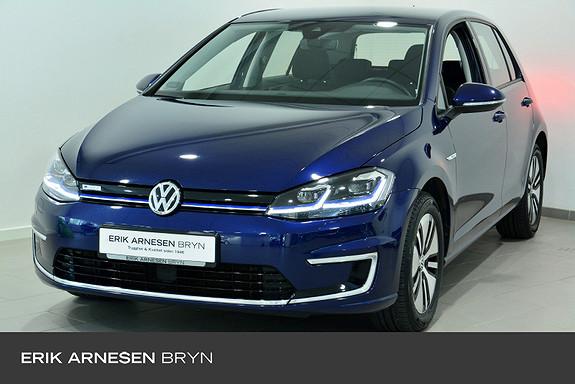 Volkswagen Golf E-golf 136 hk Ryggekamera, bluetooth, navi++  2019, 39500 km, kr 204900,-