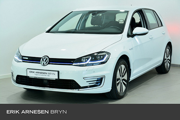 Volkswagen Golf E-golf 136 hk Kamera, Varmepumpe + +  2018, 37492 km, kr 209900,-