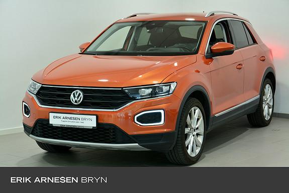 Volkswagen T-Roc 1,5 TSI 150hk Sport 2WD DSG Webasto, Kamera, Krok, ACC+  2018, 46200 km, kr 259900,-