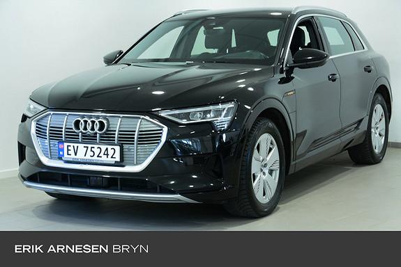 Audi e-tron 55 advanced plus Assistentsystempakke by + tur, H.feste  2019, 53000 km, kr 584900,-