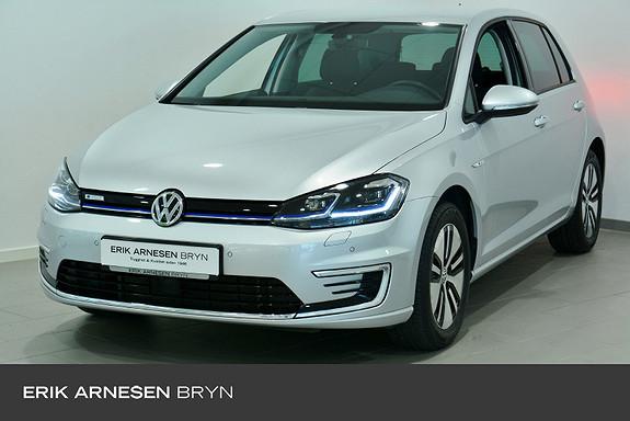 Volkswagen Golf E-golf 136 hk * Ryggekamera, Keyless Tonede ruter  2020, 9250 km, kr 239900,-