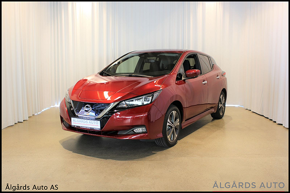 Nissan Leaf N-Connecta 62 kwh e+/vinterpakke/varmepumpe/  2020, 10 km, kr 299000,-
