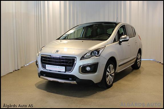 Peugeot 3008 1.2 PureTech Allure  2016, 33000 km, kr 159000,-