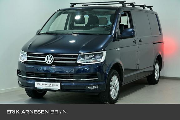 Volkswagen Transporter 2,0 TDI 150hk K u/vindu 4Motion DSG Webasto, ACC, Kamer  2017, 36200 km, kr 369900,-