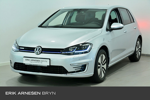 Volkswagen Golf E-golf 136 hk * Keyless, Kamera, Varmepumpe + +  2020, 6890 km, kr 244900,-