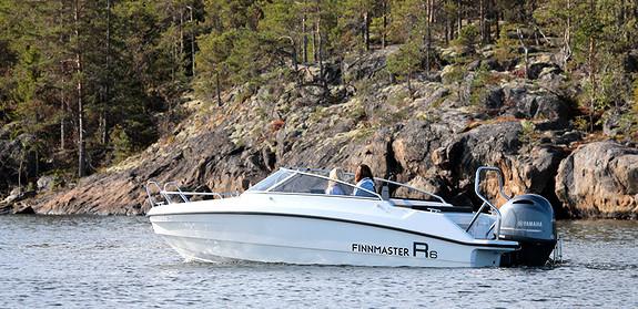 Finnmaster R6 m/Yamaha F200 og masse utstyr!