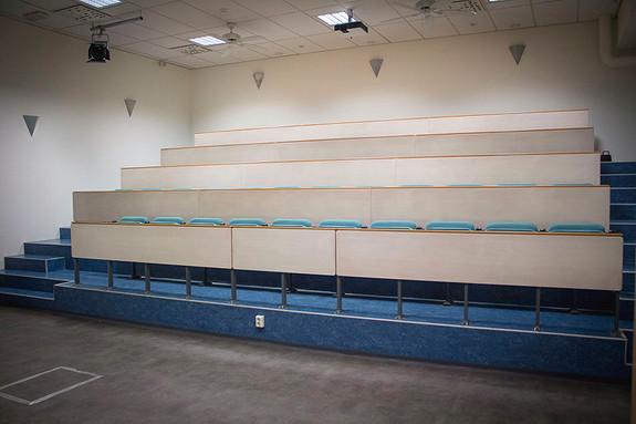 Auditorium med plass til over 50 personer