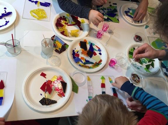 S12 - Galleri og verksted med gratis tilbud  for barn hver søndag