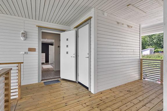 Bod/Sportsbod tilhørende leiligheten rett utenfor inngangsdøren