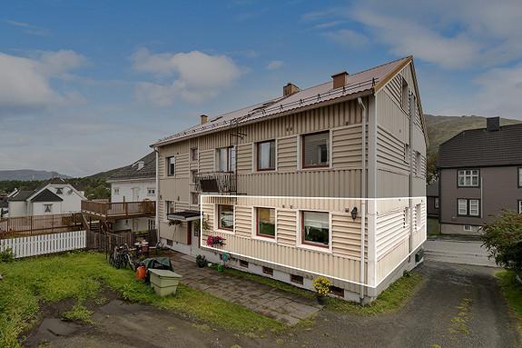 Leiligheten ligger i 1. etasje - Sentralt på Frydenlund