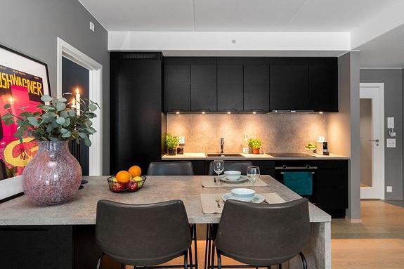 Moderne og fint kjøkken