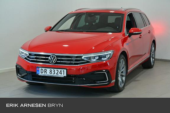 Volkswagen Passat 1,4 TSI 218hk DSG Exclusivepakke, Webasto, Krok, Matrix  2021, 21000 km, kr 489900,-
